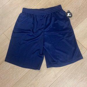 Starter boys mesh athletic shorts NWT